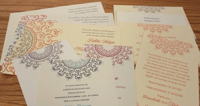 Lola & Lalita Wedding Invitations